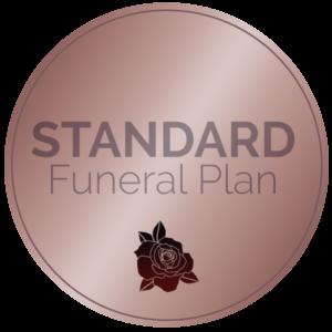 standard funeral plan